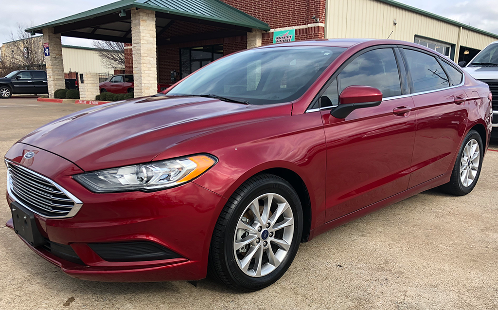 2017 Ford Fusion SE Ecoboost
